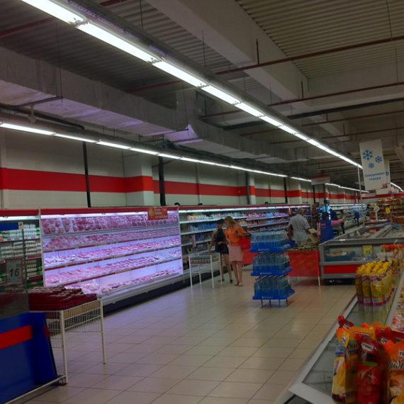 "Объект №36 - г. Херсон, супермаркет ""ЭКО-маркет"""