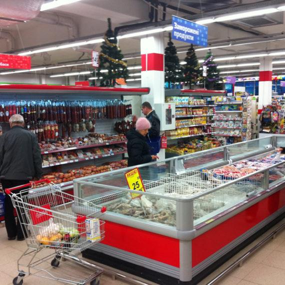 "Объект №42 - г. Ирпень, супермаркет ""ЭКО-маркет"""