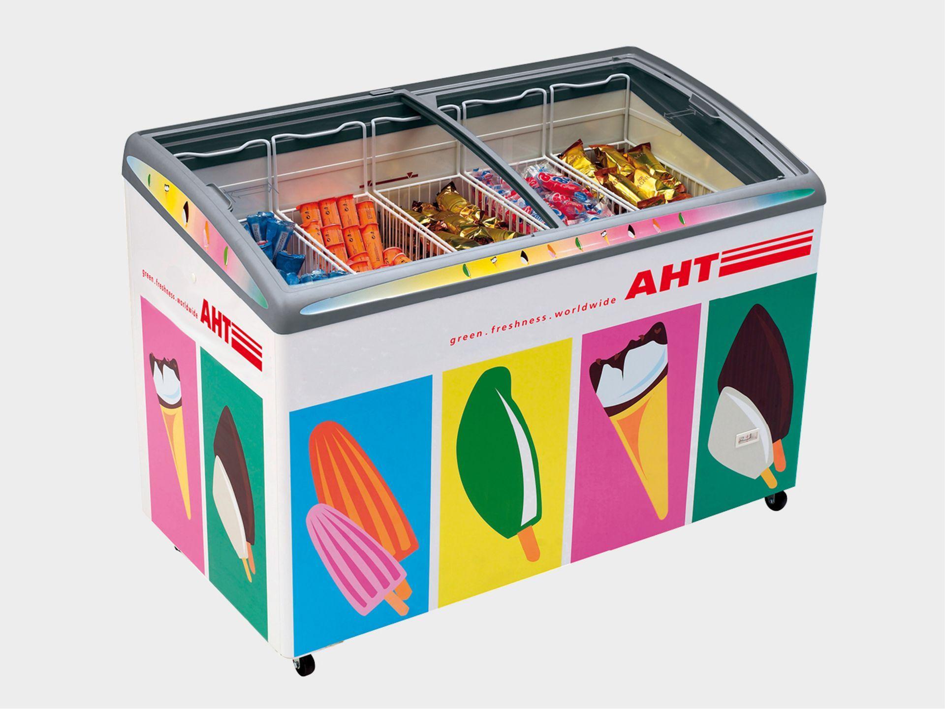 Лари для мороженого AHT